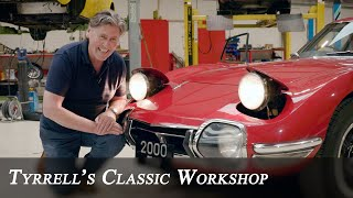 Toyota 2000GT - Bond Car or Kawaii Shockwave | Tyrrell's Classic Workshop