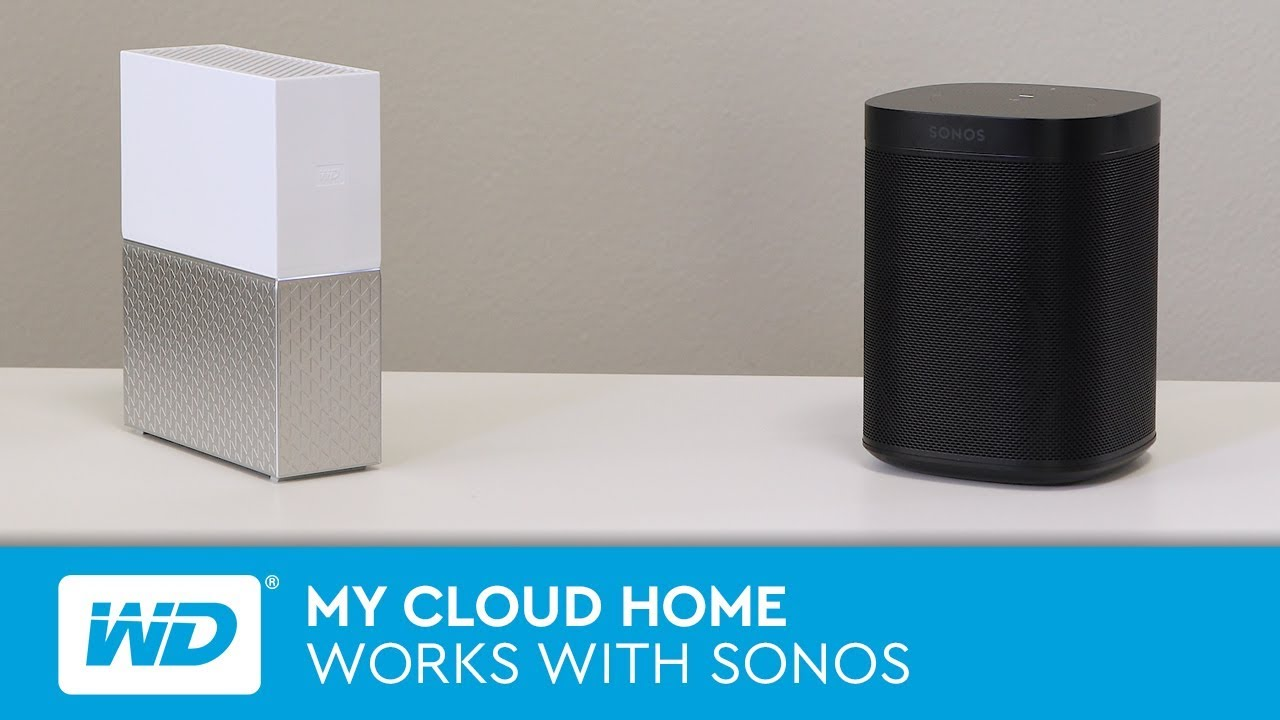 My Cloud Home | Works with Sonos