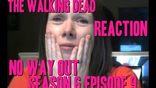 the walking dead no way out season 6 episode 9 reaction  carl gets shot