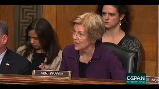 Sen. Elizabeth Warren Grills Trump's Labor Nominee Over Workplace Safety
