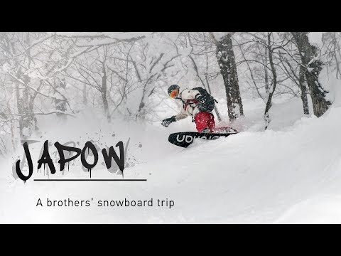 Japow - A brothers' snowboarding trip