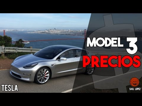 ¡Se han filtrado los PRECIOS del TESLA MODEL 3!
