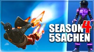 5 Things in Season 4 - New Free Skins - FirstPersonMode || Fortnite Battle Royale