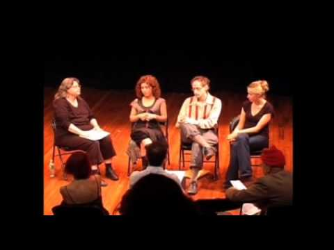 Svjetlana Bukvich - Interview with Bernadette Speach, live at The Flea Theater, Tribeca, NYC