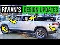 Rivian Pickup Truck Spied with New Design Updates