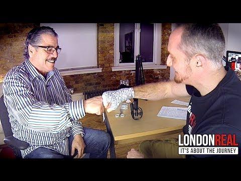 "UFC Cutman Jacob ""Stitch"" Duran Wraps MY Hands | London Real"