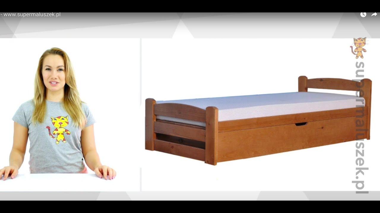 łóżko Tapczan Jednoosobowy Dawid Youtube