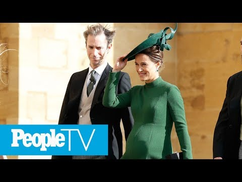Pippa Middleton Welcomes Her First Child With Husband James Matthews | PeopleTV