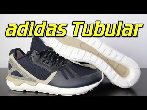 adidas-tubular-runner-black/simple-brown---review-+-on-feet