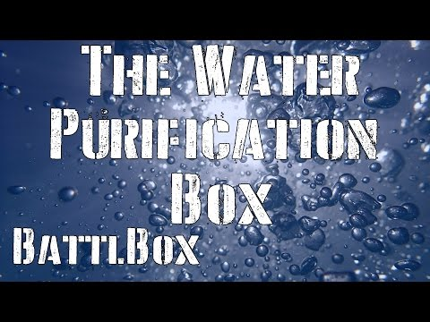 Battle Box Mission 19 Review: The Water Purification Box: