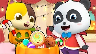 Download Trick or Treat Song | Halloween Song | Monster Truck | Kids Songs | Kids Cartoon | BabyBus Mp3 and Videos