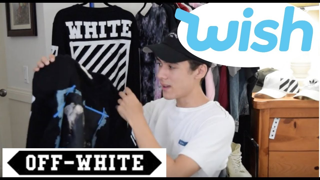 wish off white vs real off white youtube. Black Bedroom Furniture Sets. Home Design Ideas