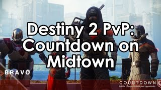 Destiny 2: Hunter Gameplay - Countdown on Midtown Crucible 4v4 PvP