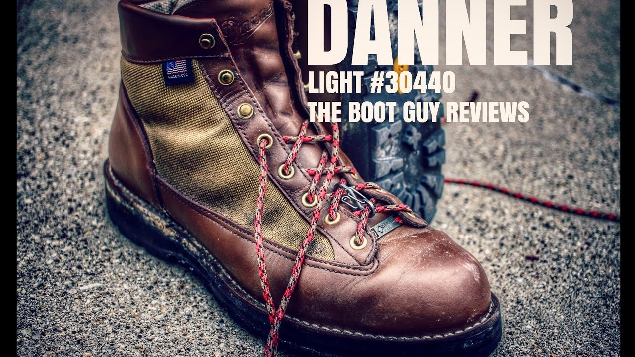 ffafa795a42 DANNER LIGHT #30440 [ The Boot Guy Review ]