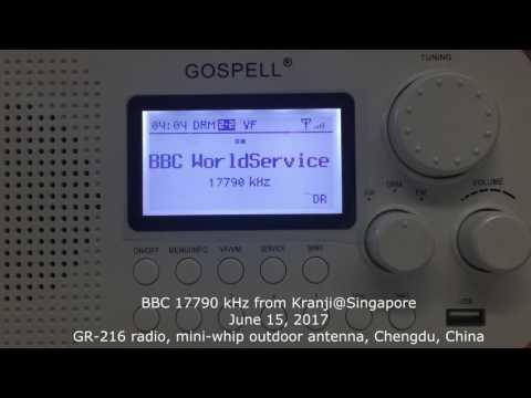 20170615, GR-216 DRM Radio - BBC 17790 kHz