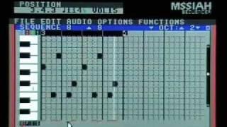 Muziek maken met de MSSIAH Sequencer
