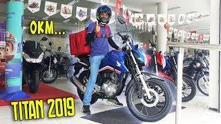 MOTOBOY TIRANDO TITAN 160 2019 DA HONDA