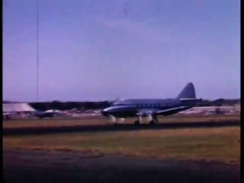 Farnborough Airshow 1949 - in colour