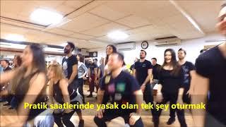 DANS DERSİ PRATİK UYGULAMASI- Aytunç Bentürk Dans Akademi