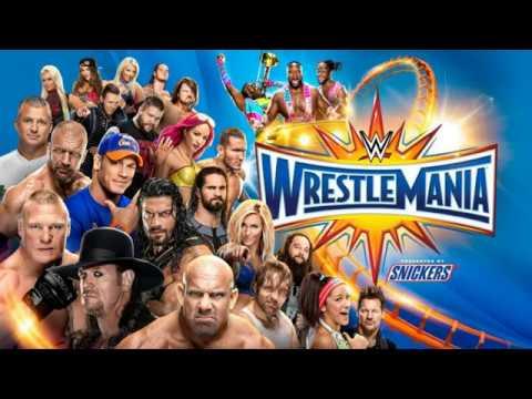 WWE WrestleMania 33! [WWE 2K17 Simulation]