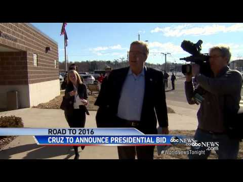 Ted Cruz Announces Run in 2016 Presidential Race