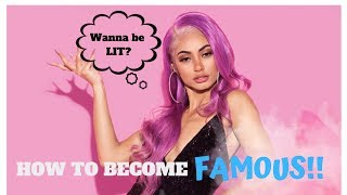 How To Become An Actor, Model And IG Famous