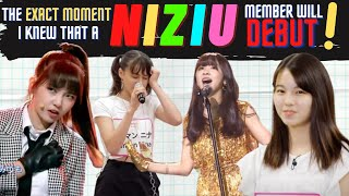 The exact moment I knew a NiziU member is going to debut |  NiziUメンバーのデビューを確信した瞬間