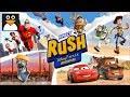 カーズ、インクレディブルファミリー、トイストーリー 日本語 | ラッシュ:ディズニーピクサー アドベンチャー | 子供向けアニメのゲーム