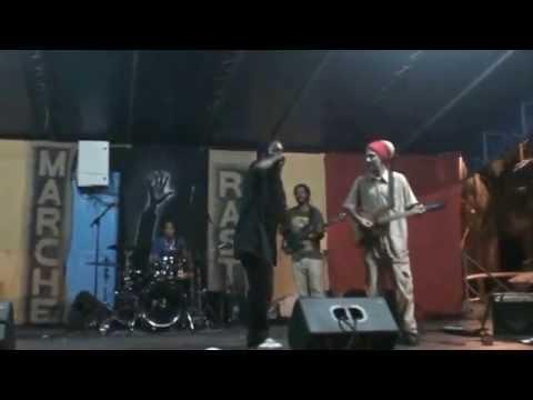 DjamaKeita And HighWouler's ( MarcheRasta2014/Martinique )