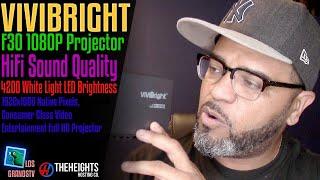 #Vivibright F30 True 1080P Projector 🍿 : LGTV Review