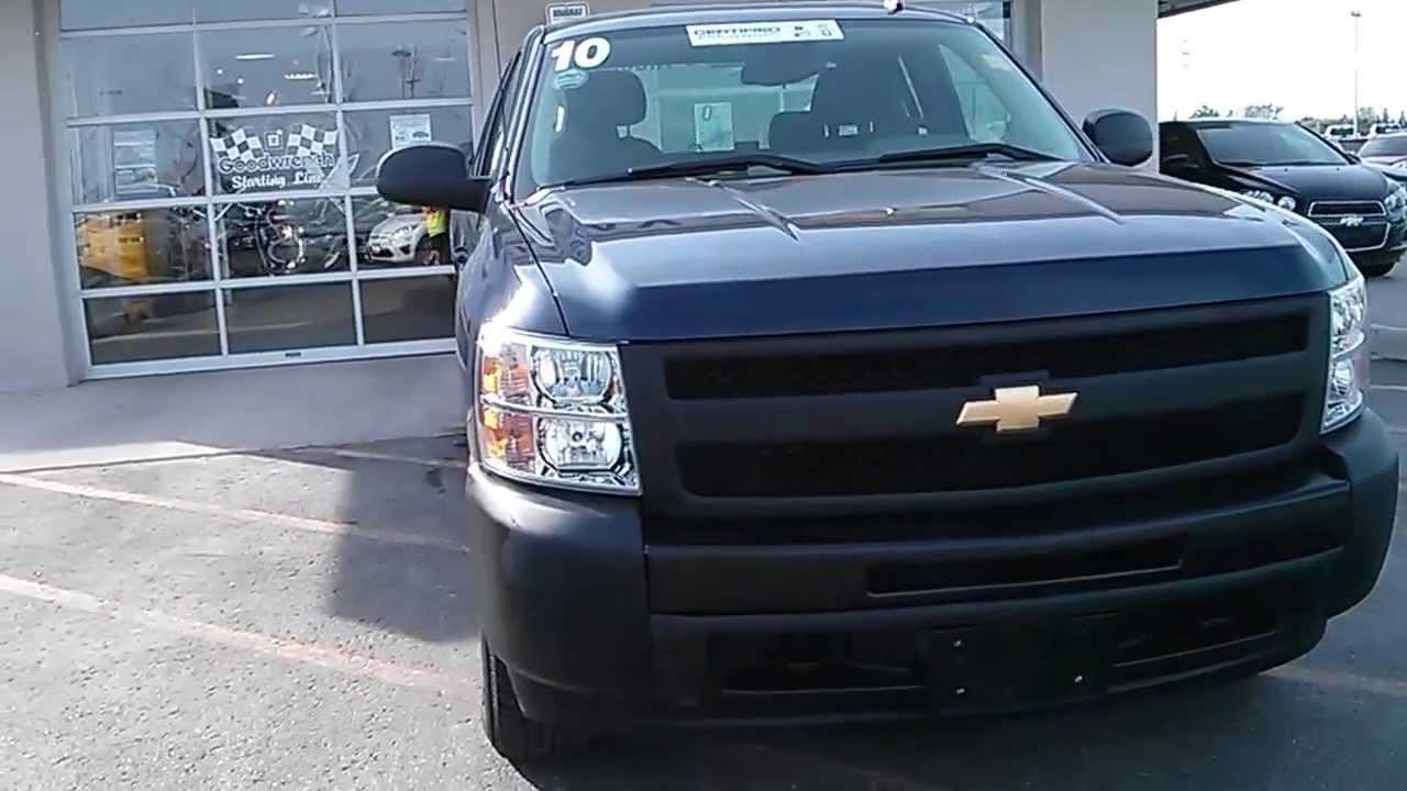 2010 Chevrolet Silverado 1500 4wd Ext Cab 143 5 Wt 4 Door Pickup