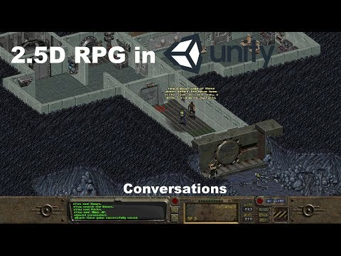 Lets Make a 2 5D RPG in Unity - Conversations - YouTube