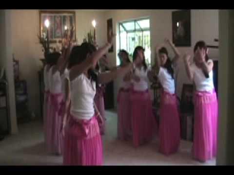 """Điệu múa """"Diệu Pháp Âm"""" _ GĐPT VẠN HẠNH STOCKTON CA_RAW"""