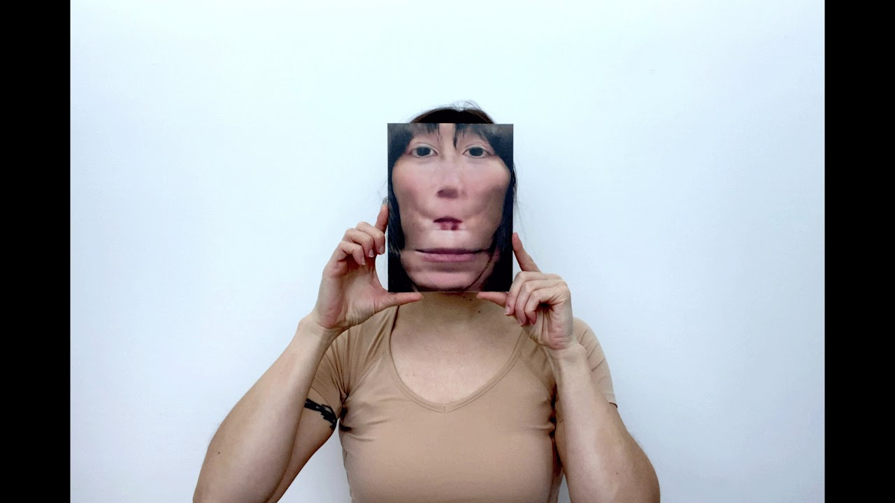 Wearing Photos as Mask, AI Variation
