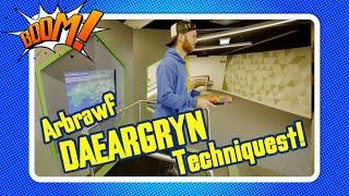 Peiriant Daeargrynfeydd Techniquest | Earthquake machine experiment! | Boom!