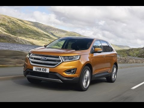 2017 new ford edge 4x4 suv motor show youtube. Black Bedroom Furniture Sets. Home Design Ideas