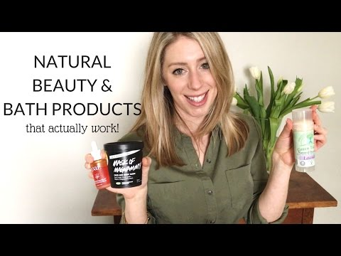 NATURAL BEAUTY + BATH | PRODUCTS THAT WORK!