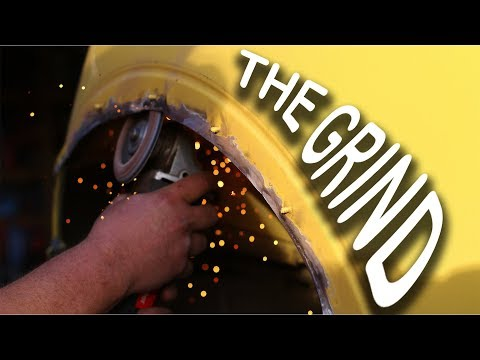 Cutting and Welding Fenders, THE RIGHT WAY! (1 of 2)