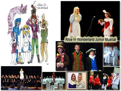 Hodgdon Maine Junior School Musical 2017 | Alice In Wonderland