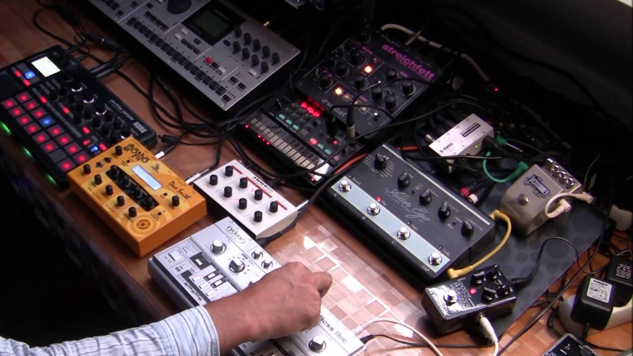Acid house techno with volca fm electribe tt 303 for Acid house techno