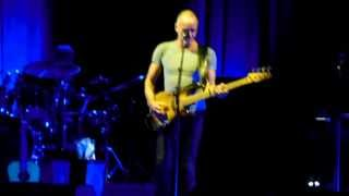 PAUL SIMON + STING On Stage Together - THEY DANCE ALONE