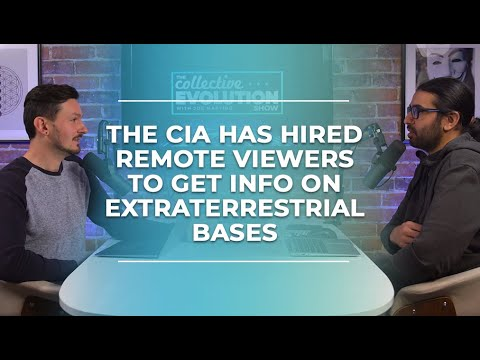The CIA Hires Remote Viewers To Get Info On Extraterrestrial Bases