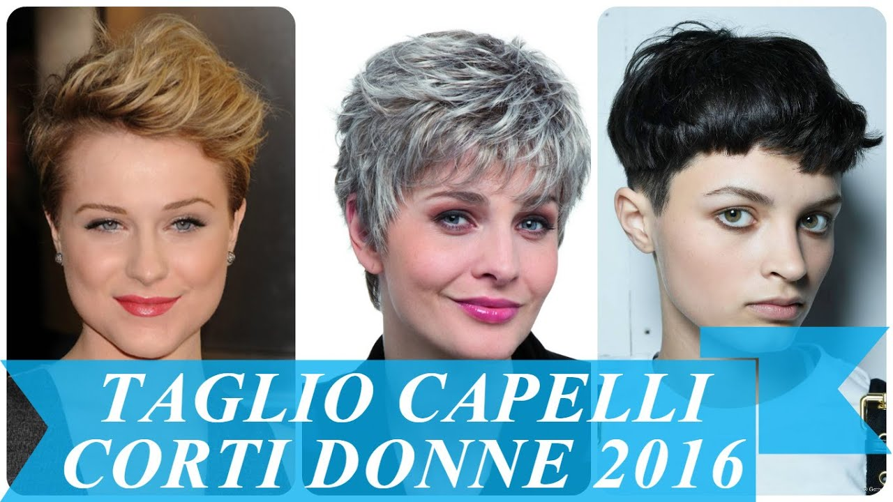 Super Taglio capelli corti donne 2016 - YouTube PS24