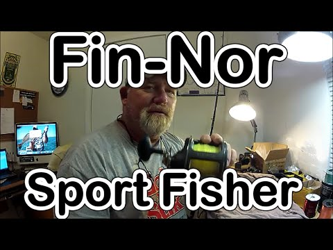 FIN-NOR SPORTFISHER REEL REVIEW