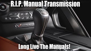 Is The Manual Transmission Dead?