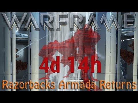 Warframe - Razorbacks Armada Returns