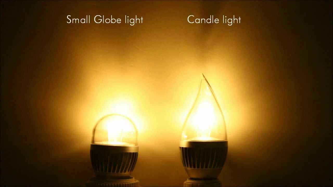 Luman Lighting Led Candle Light Flame Youtube