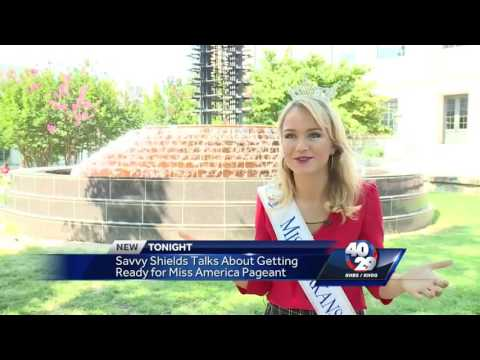 Miss Arkansas returns to her hometown of Fayetteville