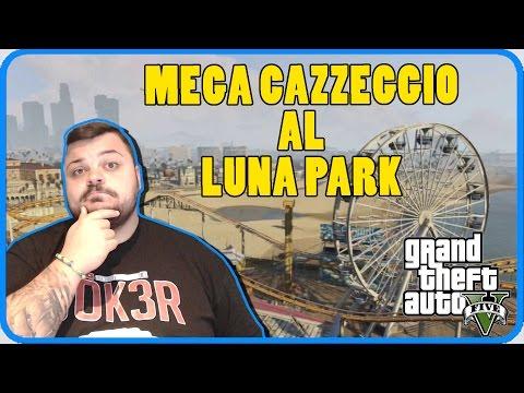 GTA 5 Online : Cazzeggio e Panico al Luna Park !