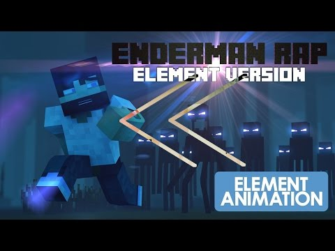 Reverse - Element Animation - Minecraft Enderman Rap